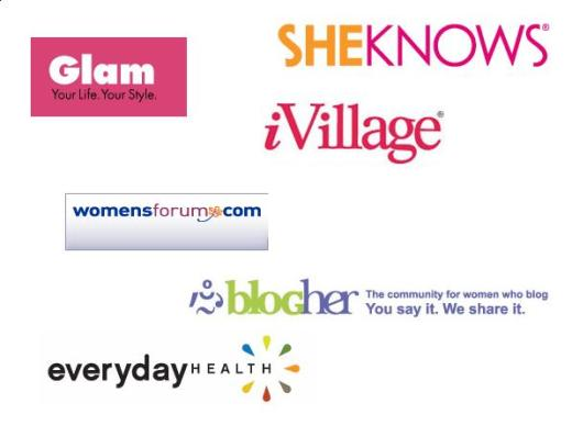 The main women ad networks